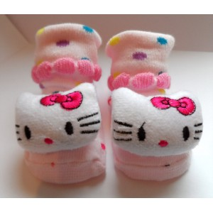 Cute Kitty Baby Socks